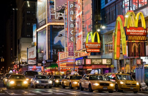 New tork times square - By Franck Michel