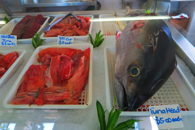 Ocean Fresh fish shop rarotonga cook islands