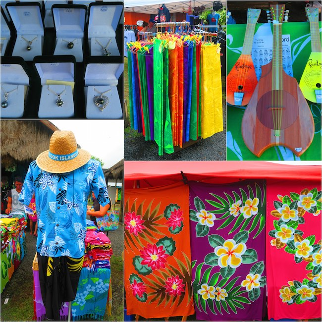 Punanga Nui Market Rarotonga Cook Islands - things to buy