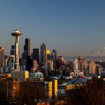 Seattle Skyline Image via Flickr by Tiffany Von Arnim