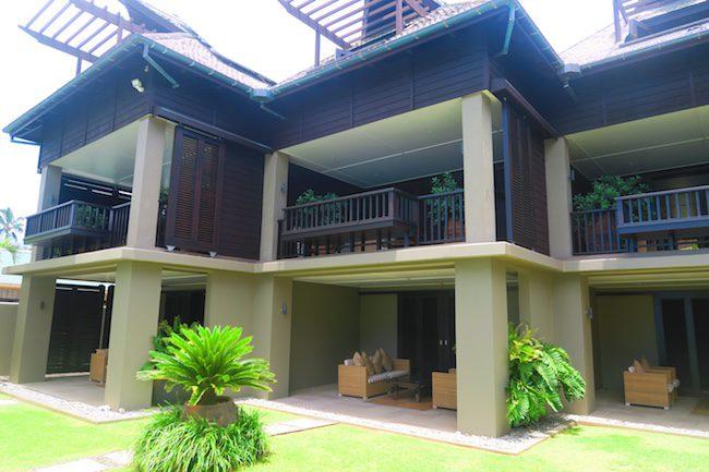 Te Vakaroa luxury villas rarotonga - exterior view