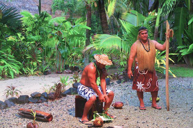 Te Vara Nui Village Rarotonga - village tour workshop
