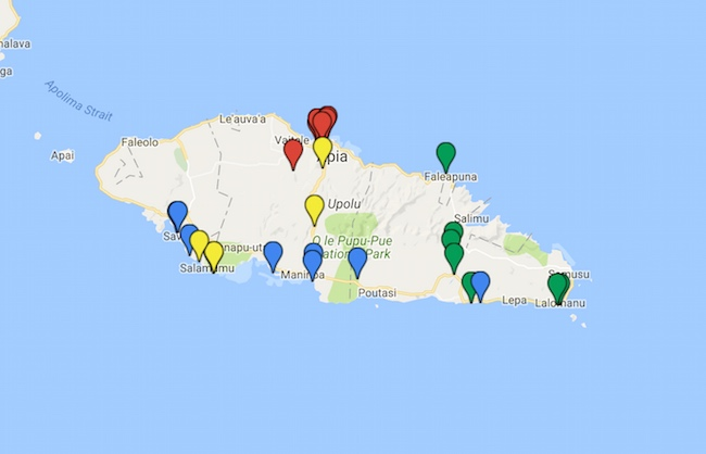 5 Days In Samoa Itinerary Guide Map