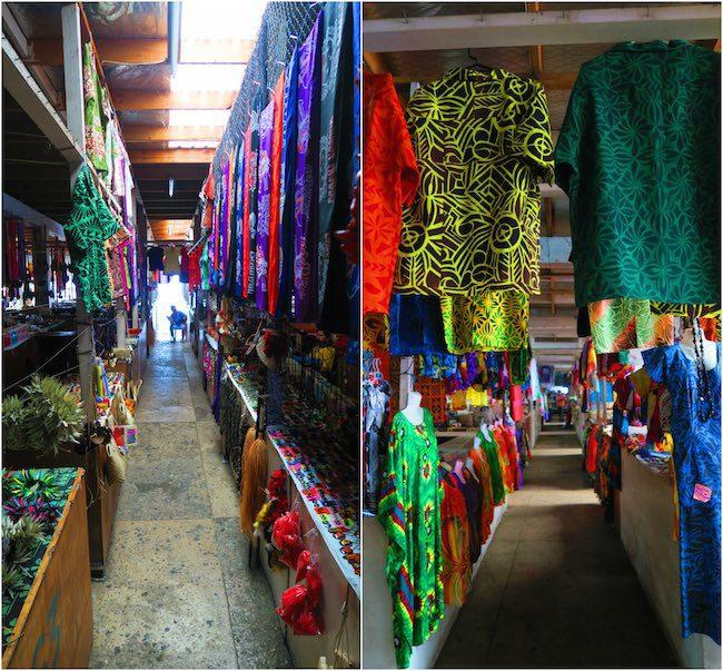 Apia flea market samoa