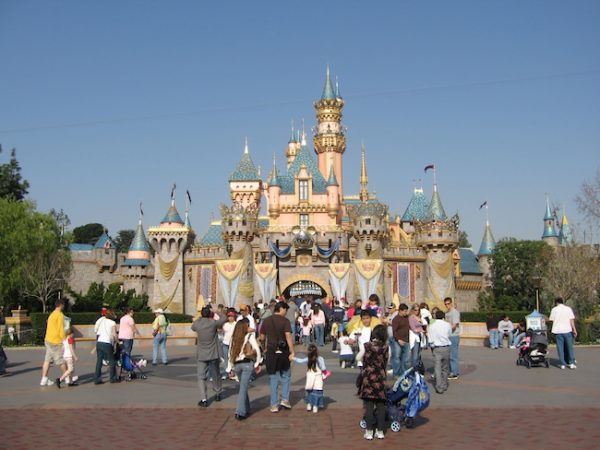 Disneyland Magic Kingdom via wikimedia