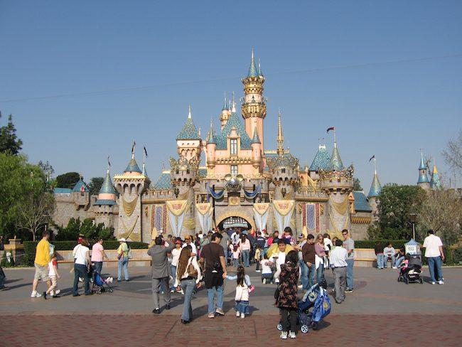 Disneyland Magic Kingdom via wikimedia