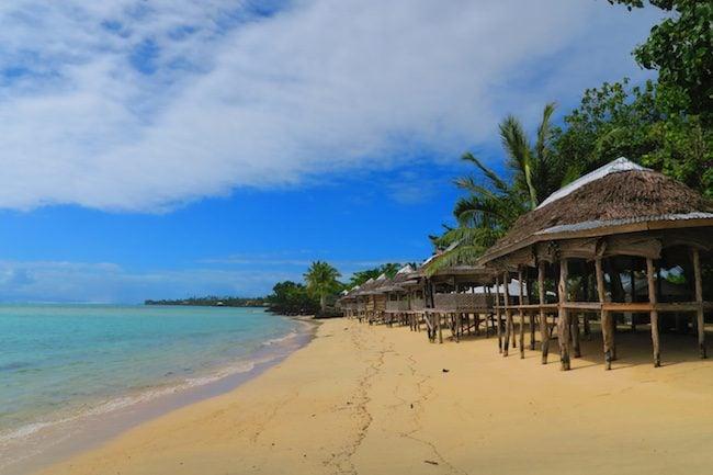 Lano Beach Savaii Samoa
