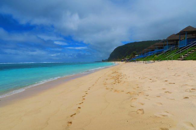 Litia Sini's Beach Fales Lalomanu Samoa