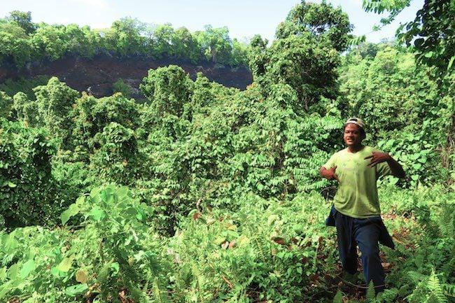 Mount Tafua Crater savaii island samoa