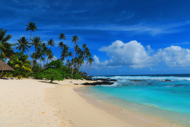 Return To Paradise Beach Samoa