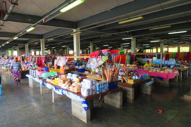 Salelologa market savaii island samoa