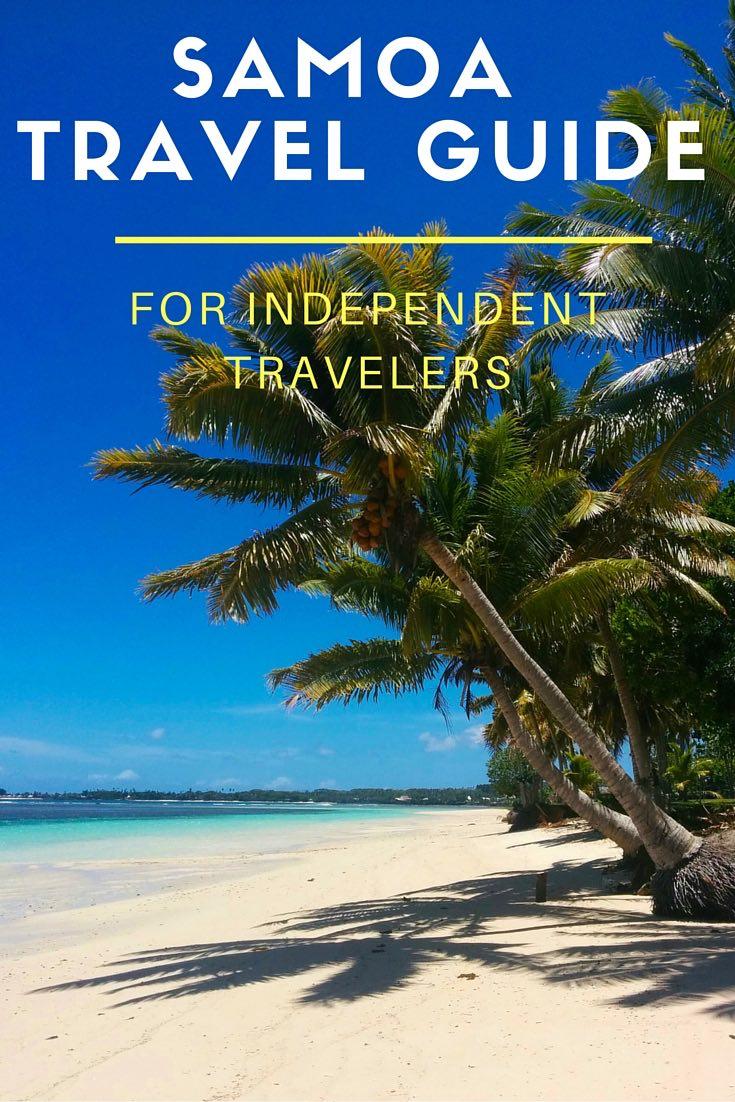 Samoa Travel Guide - Pinterest Cover