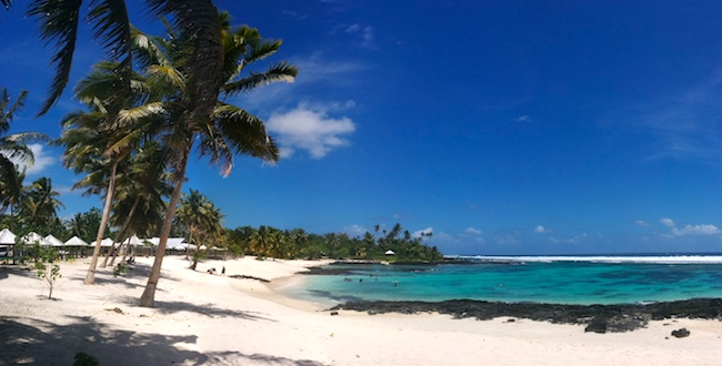 Samoa Travel Guide - tropical beach panoramic view