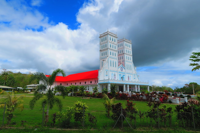 Savaia Village Samoa church