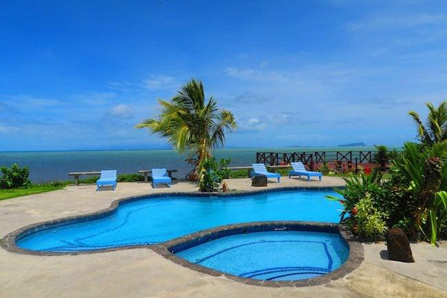 Savaiian Hotel Salelologa Savaii Samoa - Pool
