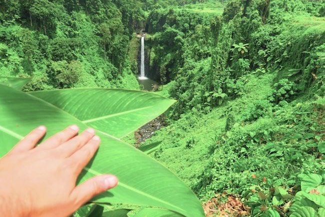 Sopoaga Tropical Waterfall Samoa Hidden