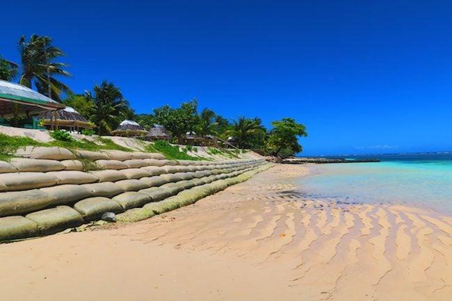 Tanu Beach Fales Savaii Samoa - the beach