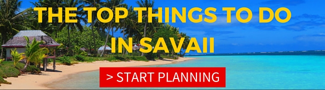 Top things to do in Savaii island samoa