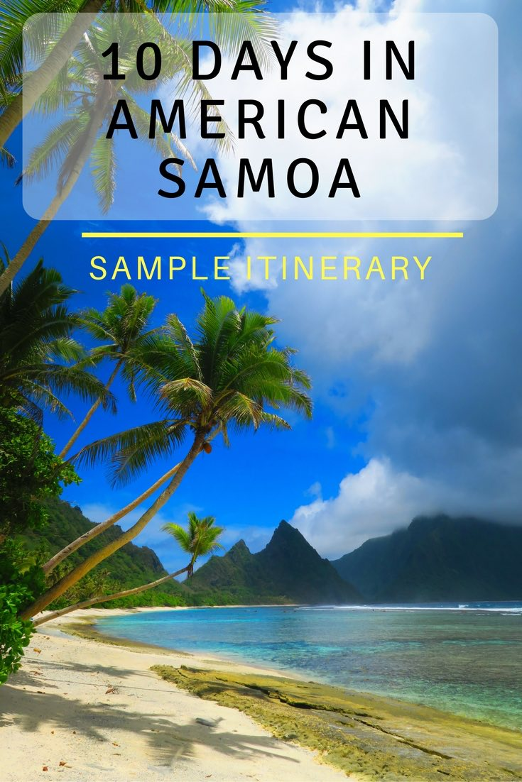 10 DAYS IN AMERICAN SAMOA - PINTEREST
