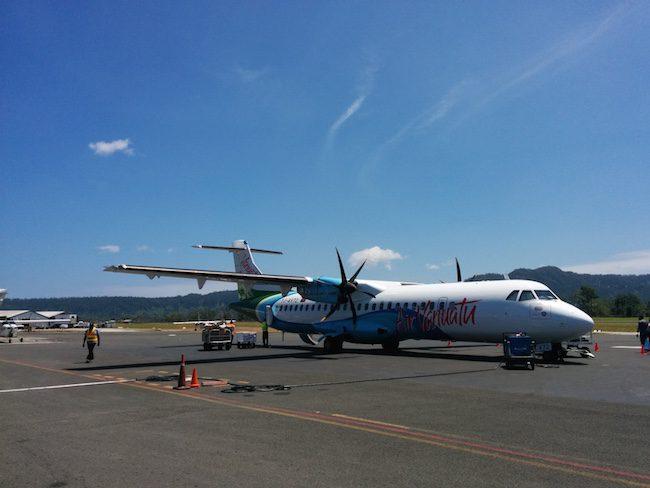 Air Vanuatu ATR Plane