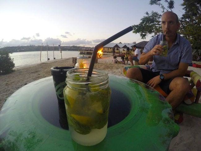 Banyan Beach Bar Port Vila Vanuatu