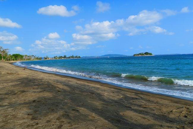 Black Sand Beach - Port Vila Vanuatu
