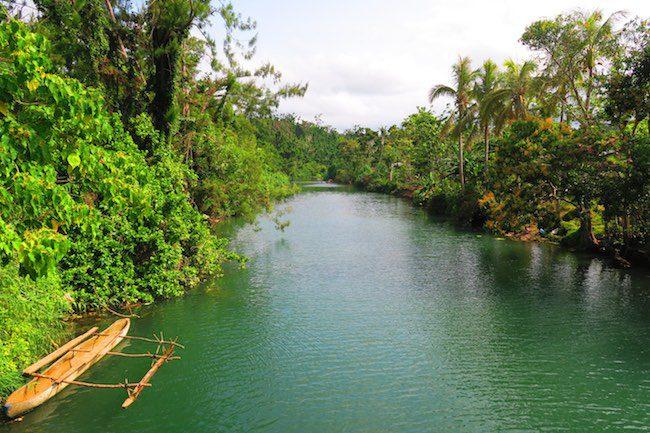 Crossing River Efate Island Vanuatu Roadtrip