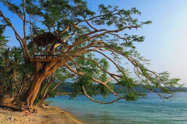 Gideon's Landing Beach Port Havannah Vanuatu