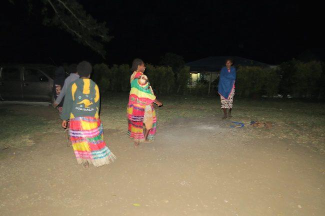 John Frum Cargo Cult in Tanna Island Vanuatu - Women Dancing