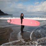 Millenial Surfer