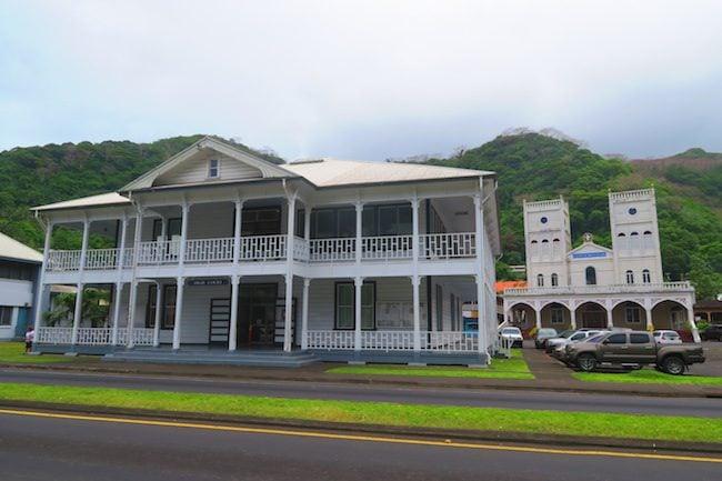 Navy Administration Building Pago Pago American Samoa
