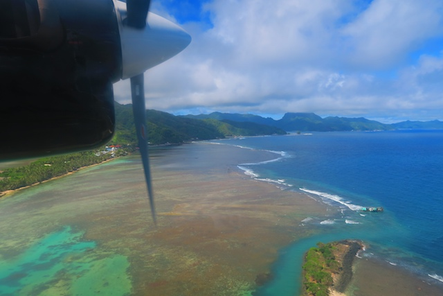 Pago Pago American Samoa aerial view