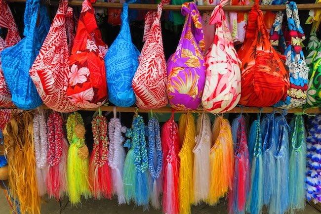Souvenirs in Port Vila Central Market - Vanuatu