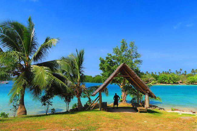 Waiting For Boat To Oyster Island Resort Espiritu Santo - Vanuatu
