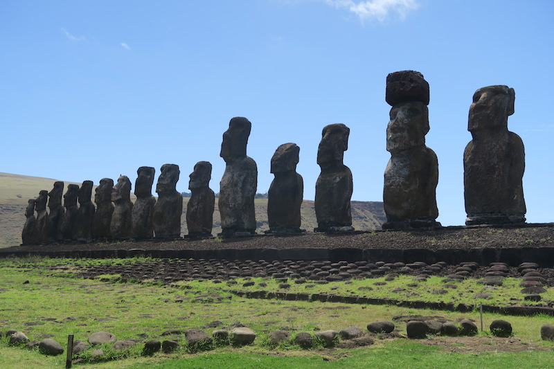 Ahu Tongariki - Best Easter Island Temple