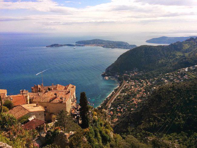 Village In French Riviera