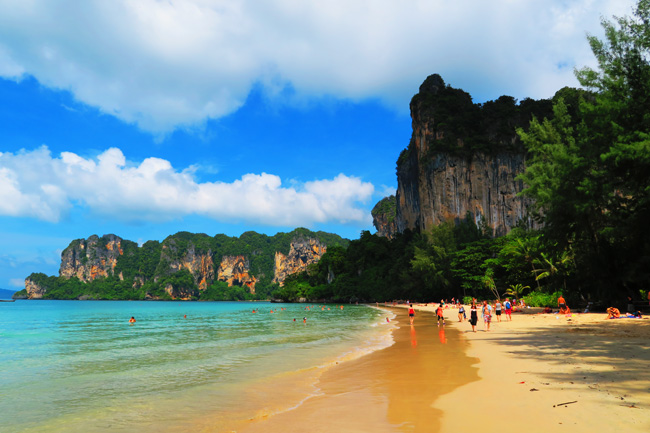 West Railay Beach Krabi Thailand X