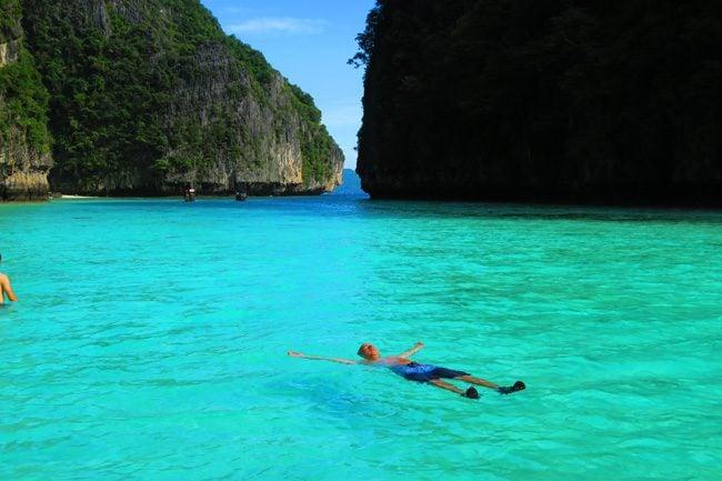 floating-in-pileh-lagoon-ko-phi-phi-leh
