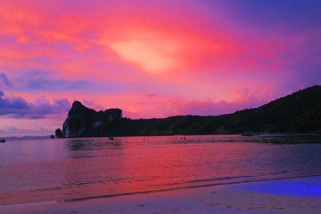 sunset-in-ko-phi-phi