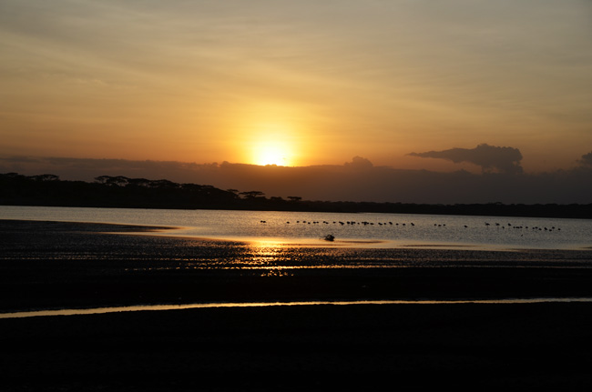 sunset-lake-masek-tented-camp-tanzania