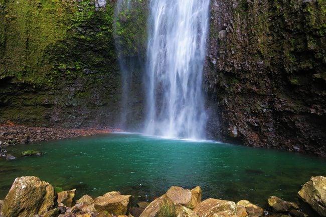 Hiilawe Falls - Big Island Hawaii