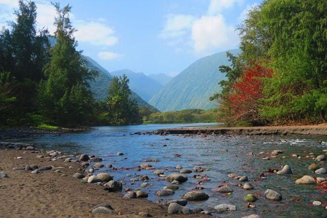 Look into Waipio Valley - Big Island Hawaii