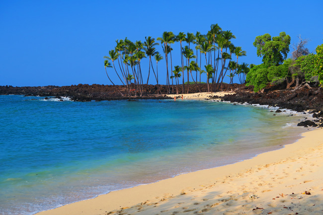 Makalawena Beach Big Island Hawaii