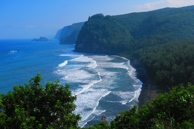 Pololu Valley Lookout - Big Island Hawaii