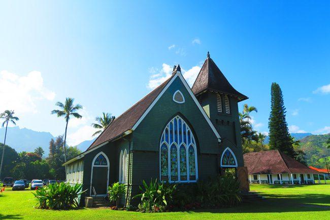 Waioli Huiia Church - Hanalei - Kauai, Hawaii