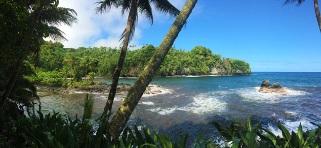 5 Days in the Big Island Sample Itinerary - Onomea Bay panoramic view