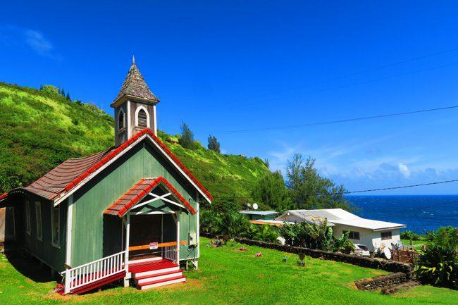 Church in Kahakuloa Village