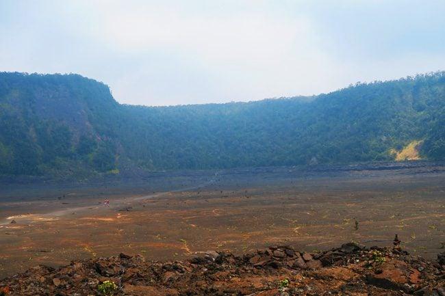 Crater Hike - Kilauea Iki Trail - Volcano National Park - Big Island Hawaii