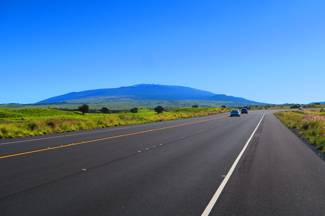 Getting around Big Island Hawaii - Saddle Road