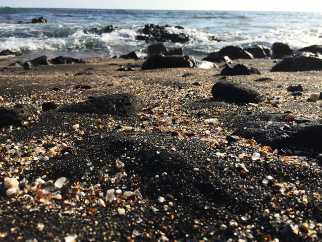 Glass Beach - Kauai - Hawaii